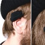Haláli téli találmány: kötött sapkát a fülre!
