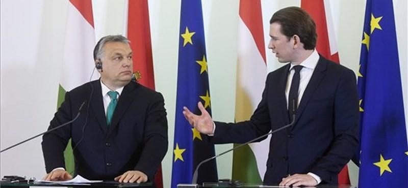 Az osztrák kancellár elfogadta Lázár bocsánatkérését