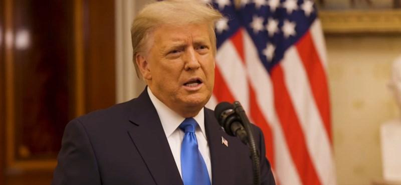 Már hivatalosan a szenátus előtt van a Trump ellen impeachment