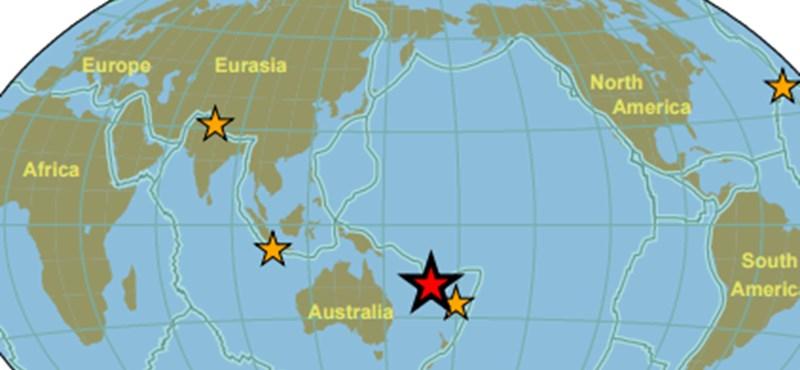 Nézze meg, milyen földrengések voltak, amikor született