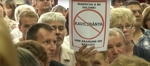 Ismét kavicsbánya létrehozása miatt aggódnak Madocsán