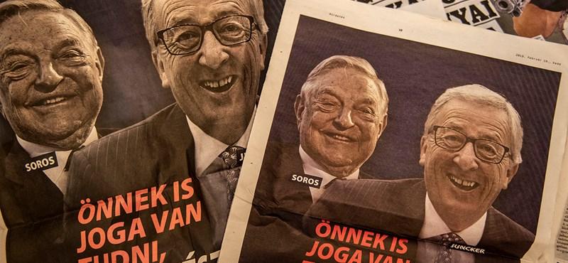 Elhatárolódik a CDU és a CSU a sorosozós-junckerezős magyar kampánytól