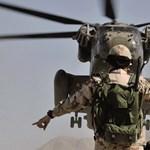 Lezuhant a NATO egyik helikoptere Afganisztánban
