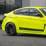 Ez az BMW X6-os sem egy kifejezetten introvertált darab