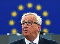 Juncker nem beszélt arról, hogy szerda után visszalő
