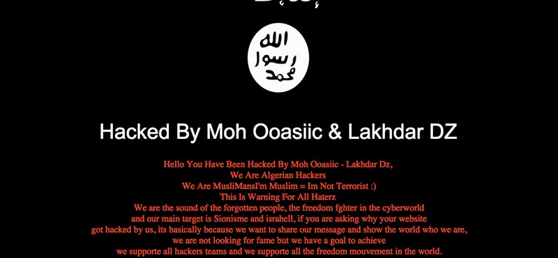Kiberdzsihád kicsiben: a magyar OBI weboldalát feltörve üzennek muszlim hackerek