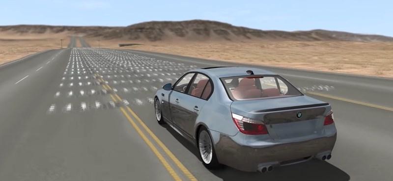 Ez történik, ha 200 km/h-val ráhajt egy sor fekvődendőrre – videó