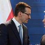 Orbán Viktornak mondott köszönetet a lengyel kormányfő az EU-csúcs után