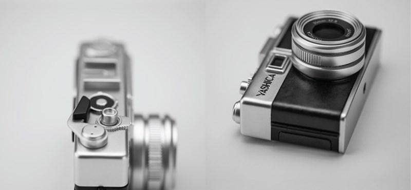 Szerette a régi fényképezőgépeket? Akkor ez tetszeni fog: ebben is van filmtekercs, de nem kell előhívni