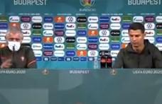 Arra kéri az UEFA a játékosokat, hagyják békén a kólásüvegeket