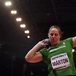Nézze meg Márton Anita aranyat érő dobását - videó