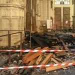Elengedték az önkéntest, akit kihallgattak a nantes-i székesegyházban keletkezett tűz miatt