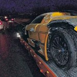Szuperautó-különlegességet zúztak le Németországban – fotók
