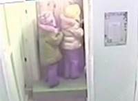 Mínusz 45 fokban lépett le észrevétlenül két kislány az óvodából