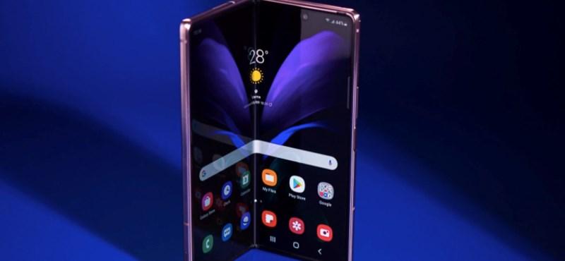 Az összehajtható képernyőbe is betenné az ujjlenyomat-olvasót a Samsung