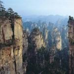 Lebegő hegyek Kínában
