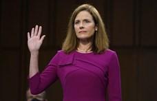 Az amerikai szenátus megszavazta Amy Coney Barrett alkotmánybíró jelöltségét