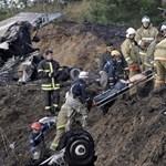 Jégkorongozókkal zuhant le egy orosz repülőgép, 36-an meghaltak