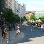 Park lesz a Móricz Zsigmond körtéren - fotó