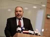 Lemondott az izraeli védelmi miniszter a gázai tűzszünet miatt