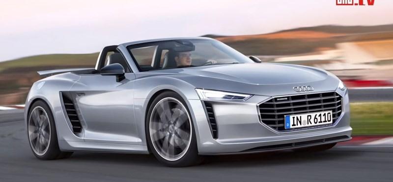 """Végre: az R8 """"kistestvérén"""" dolgozhat az Audi"""