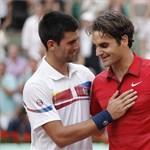 Federer legyőzte Gyokovicsot, és bejutott a Roland Garros döntőjébe