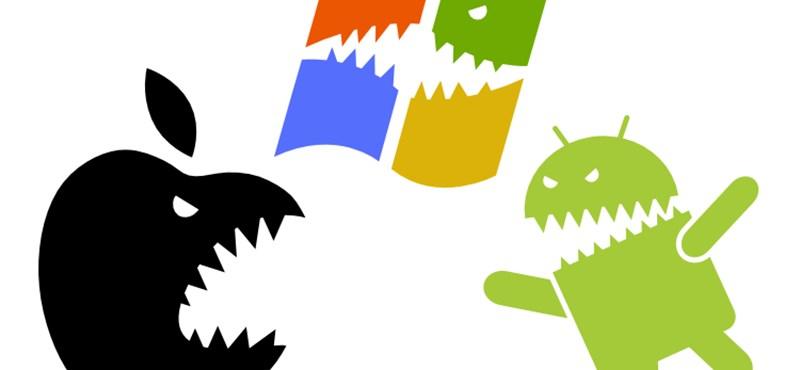 24 országban veri a Windows mobil az iPhone-t, Magyarországon is