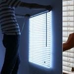 Ablakot hazudik a világító redőny