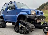 Kívánja a havat ez az éppen eladó hernyótalpas Suzuki Jimny