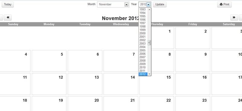 naptár havi bontásban Tech: Nyomtasson villámgyorsan az ízlésének megfelelő naptárat  naptár havi bontásban