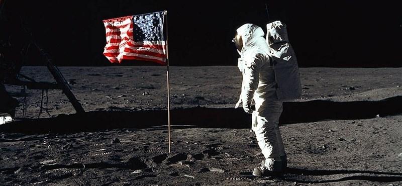 Milliókért kelt el az első Holdra szállást megörökítő fénykép