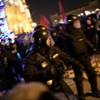 Igazoltatták a rendőrök egy belvárosi kocsma vendégeit az esti tüntetés után