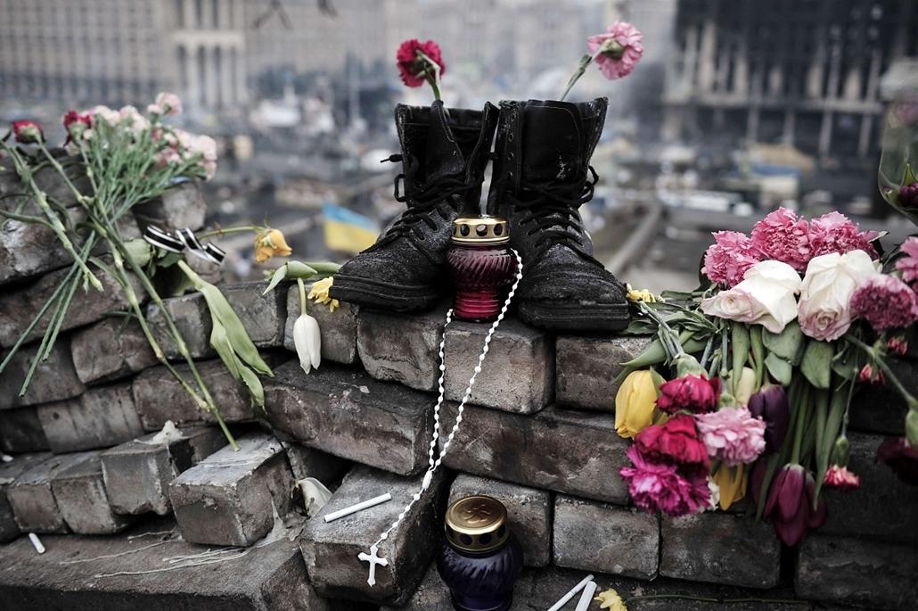 afp.14.02.28. - Kijev, Ukrajna - ukrán válság
