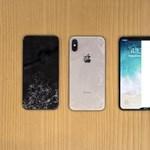 Töréstesztre vitték az iPhone X-et, és csúnyán leszerepelt – videók