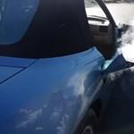 Videó: kipróbálták, mi van, ha folyékony nitrogént tankol valaki az autójába