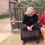 A nap groteszk videója a cigánytelepre látogató Morvai Krisztináé