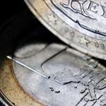 295 alá ment az euró