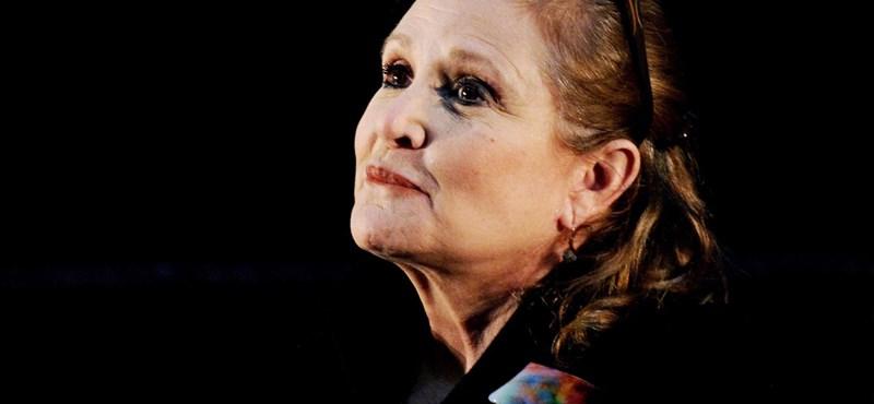 Furcsa dolgok derültek ki a Leia hercegnőt játszó Carrie Fisher haláláról