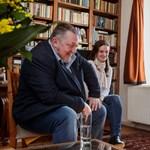 Vidnyánszky Attila meglátogatta otthonában Törőcsik Marit