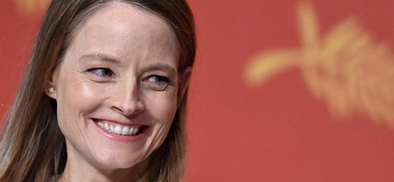 Jodie Foster kapja az Arany Pálma életműdíjat