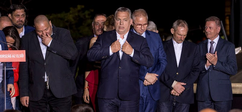 Orbán: A magas részvételt nem a szél fújta be az ajtónkon
