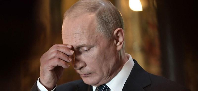 Szemétládának nevezte Putyin a megmérgezett Szkripalt