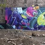 Geek-ünnep: a Pángalaktikus gégepukkasztó lett a legjobb falfestmény