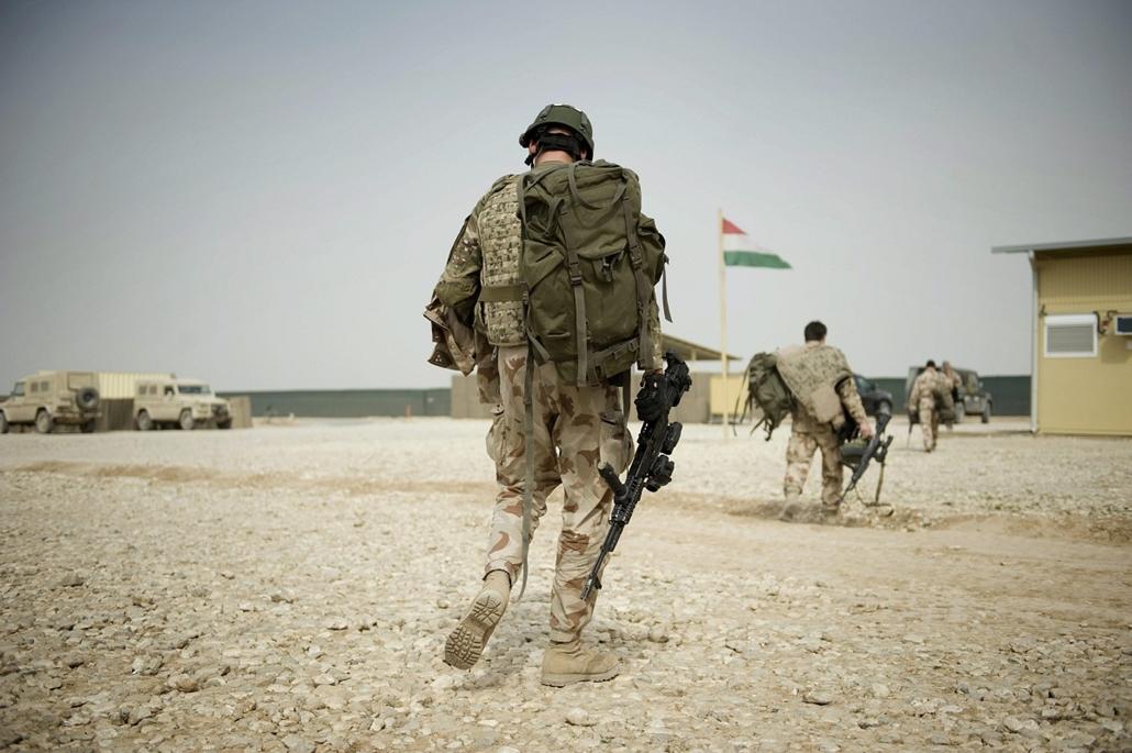 afganisztánban - magyar katonák afganisztánban