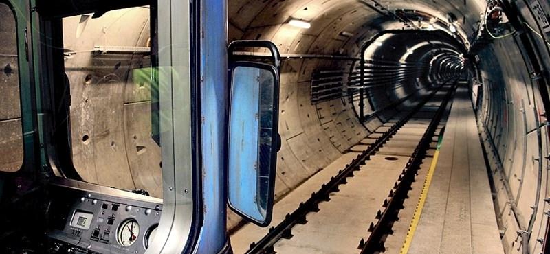 Orosz kocsikkal tesztelték a 4-es metrót - fotógaléria