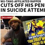 Levágta péniszét, majd kiugrott a másodikról egy amerikai rapper