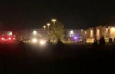 Lövöldözés volt a FedEx indianapolisi telepén, nyolcan meghaltak