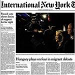 Nemzetközi konzultációt kezdeményez a New York Times a magyarokkal