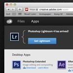 Felhőbe költözött az Adobe Lightroom 4 is!