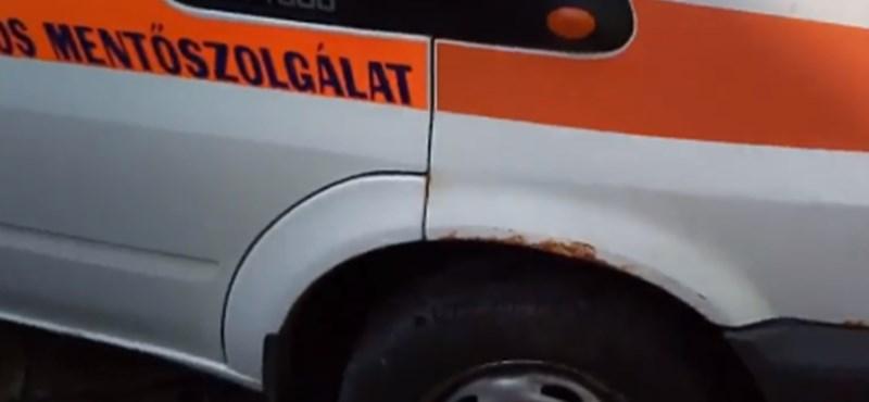 Rothadó borsodi mentőautóról posztolt videót a Magyarországi Mentődolgozók Szövetsége